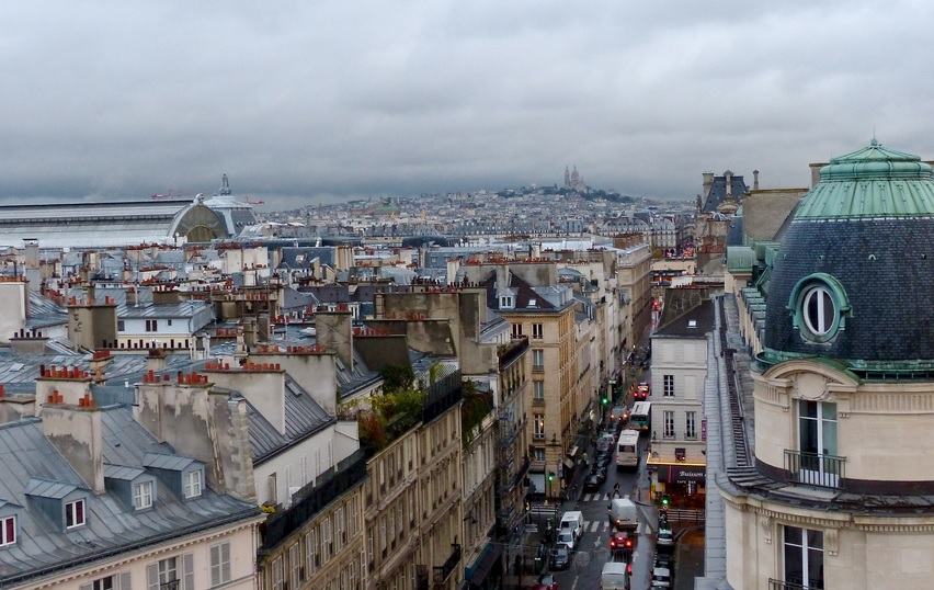 Apartment And Home Rentals In Paris often come with views like this...